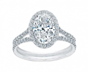 1.74 ct Oval Brilliant Diamond Ring – Sold