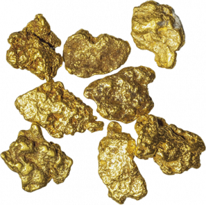 Gold nuggets found in the Yukon