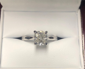 1.70 CT ROUND BRILLIANT CUT VS2 G COLOR DIAMOND RING-SOLD