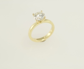 1.50 CT ROUND BRILLIANT LADIES DIAMOND RING